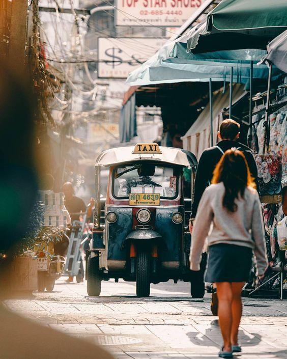 Bangkok. Next stop; Taipei.