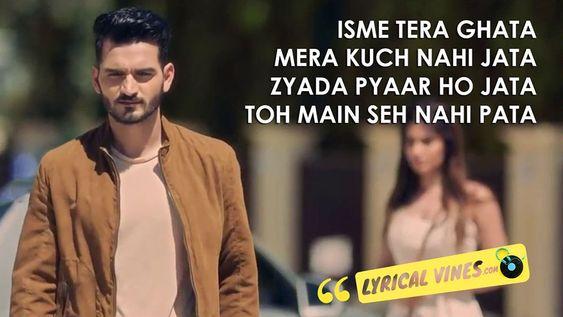 Tera Ghata Lyrics Gajendra Verma Karishma Lyrics Meaningful Lyrics Beautiful Lyrics