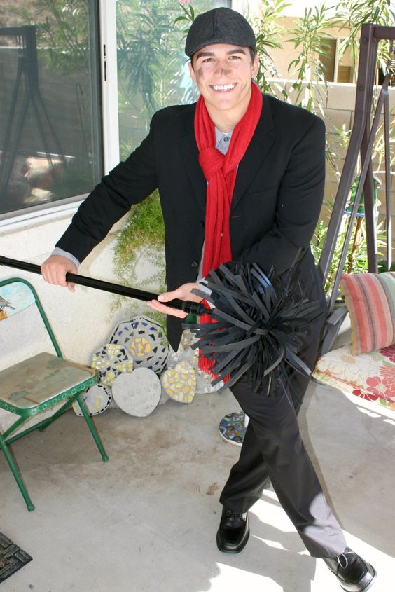 chimney sweep brush jolly holiday pinterest costume. Black Bedroom Furniture Sets. Home Design Ideas