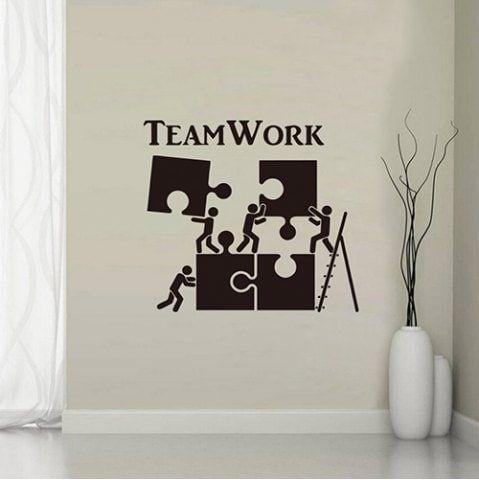 Yy004 Inspirational English Team Personality Creative Wall