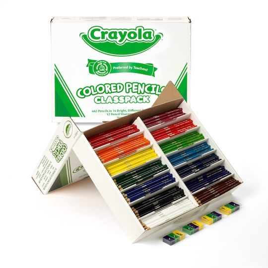 Crayola Colored Pencil Classpack 462 Count Michaels