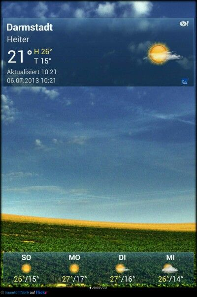 #Darmstadt Wetter