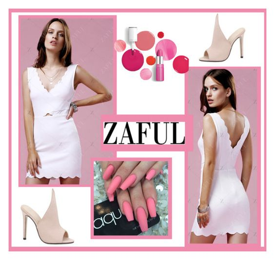 """""""Zaful"""" by nadatrixi ❤ liked on Polyvore featuring Clinique"""