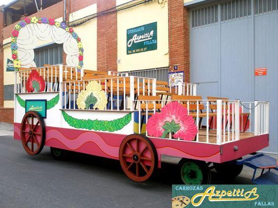 Busca la carroza que necesitas para tu fiesta en www.carrozasazpeitia.com y solicita un presupuesto.