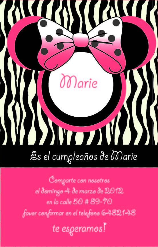 tarjeta de invitacion para cumpleaños de niña Cuando sea mama Pinterest