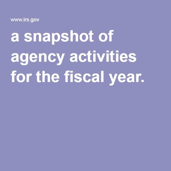 IRS Releases FY 2015 Data Book, a snapshot of agency activities for the fiscal year.