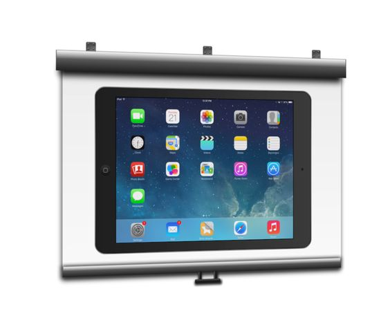 10 ways to show your ipad on a projector screen the two for Ipad pro projector