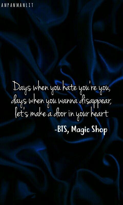 Bts Magic Shop Lyrics Bts Quotes Bts Wallpaper Iphone Design Bts magic shop wallpapers