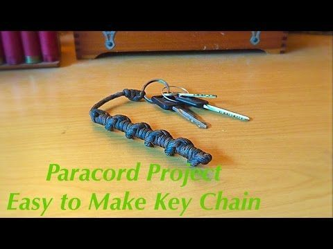 How To Make A Double Dna Paracord Keychain Paracord 550 Type 1