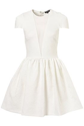Another favorite white dress... simple and sweet: Simple Sweet, Shower Dress, White Skater Dress, Sweet Repin, Sweet White, Topshop