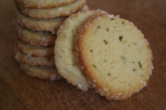 rosemary lemon sugar cookies