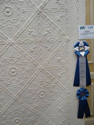 Hand Quilted!!!!!  Oh, my. . .!