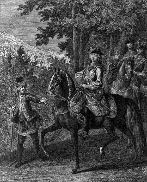 Peter III. von Rußland / Kpfst. RidingerPeter (Pjotr) III. Fjodorowitsch, Kaiser von Rußland (1762), zuvor (ab 1739) als Karl Peter Ulrich Herzog von Holstein-Gottorp;