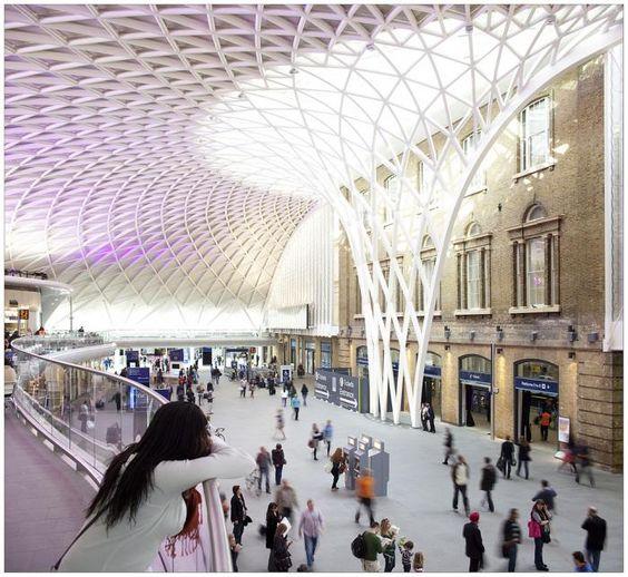 King Cross Station #station #london #organic-architecture #organic #architecture