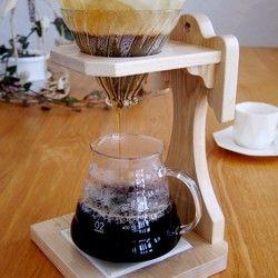 森のクマさんカフェのスープカフェセット1 受注制作 コーヒー ドリップスタンド カフェ