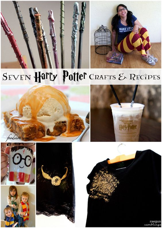 harry potter crafts and recipes - Rae Gun Ramblings