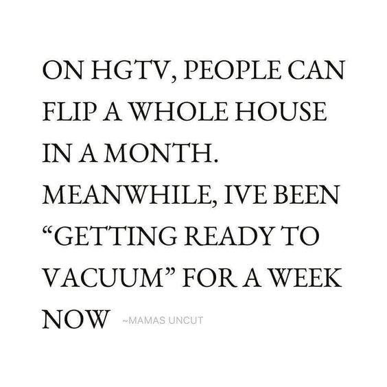 Who can relate? #housework #procrastinate #ihatetovaccum