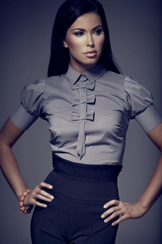 Блузки из шелка (98 фото шелковых блузок): из натурального шелка, с коротким и длинным рукавом, модные тенденции блуз 2016