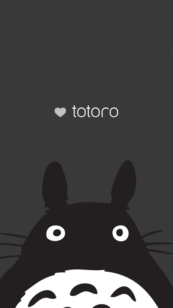 Totoro iPhone 5 background