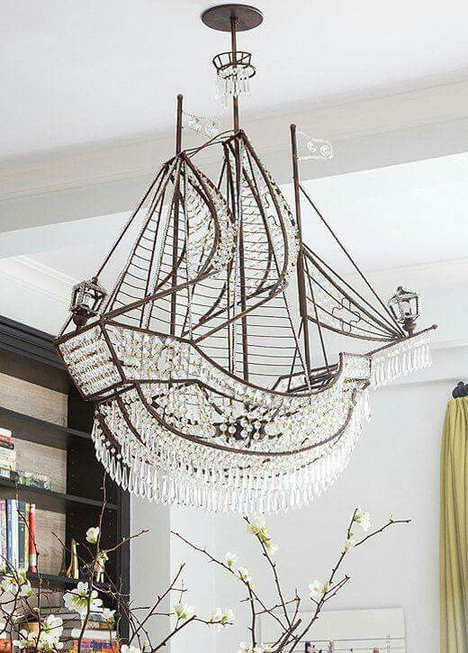 Now That S A Chandelier Pirateship Beachside Bungalow