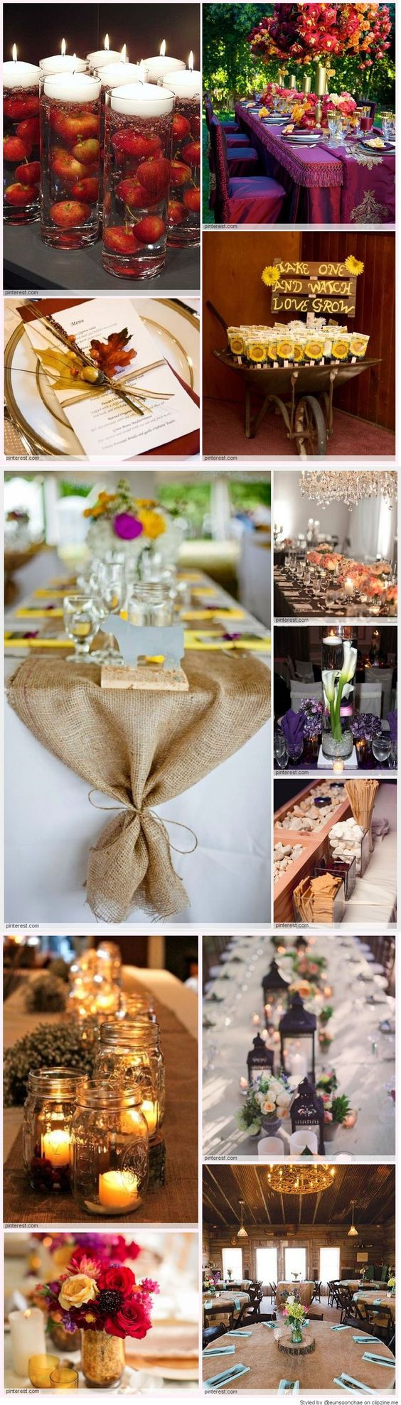 Fall Wedding Tablescape Idea Clipzine Pages
