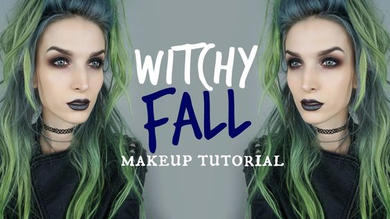 Dark & Witchy Fall Makeup Tutorial