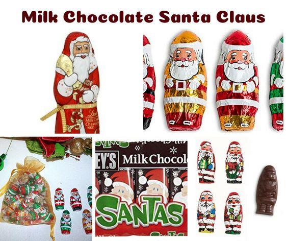 Milk Chocolate Santa Claus