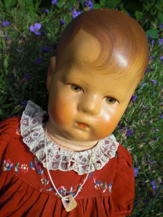 Wunderschöne antike Käthe Kruse Puppe I