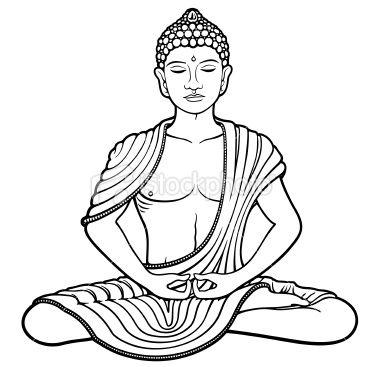 Young Buddha Royalty Free Stock Vector Art Illustration ...