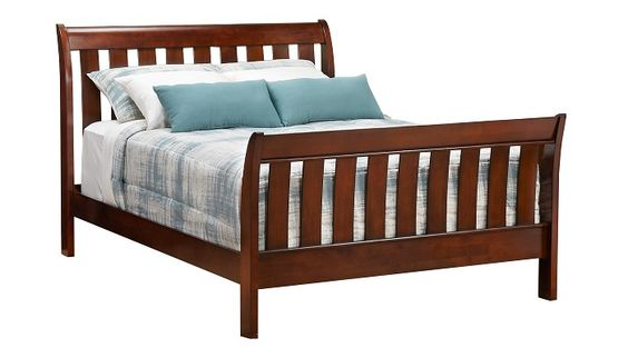 Slumberland Furniture Bridgeport Collection Espresso Queen Bedstead Slumberland Furniture