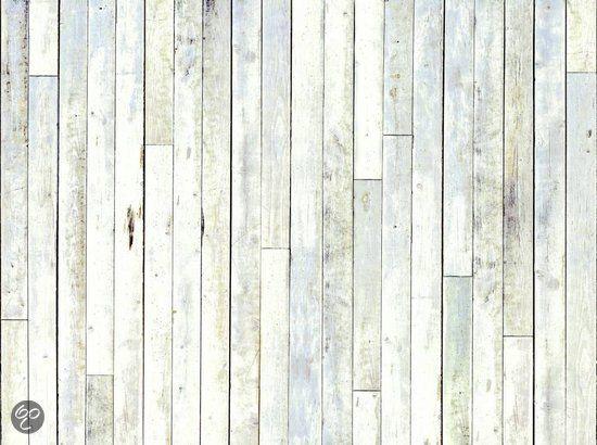 Steigerhout planken behang