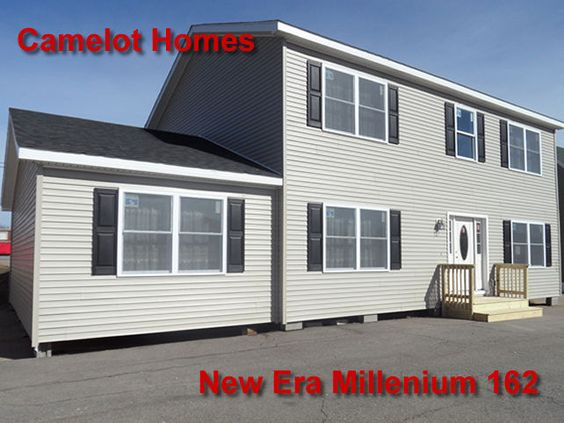 4 Bedroom 3.5 bath New Era 162 Modular Two Story Home For Sale at Camelot Home Centers, NH, ME
