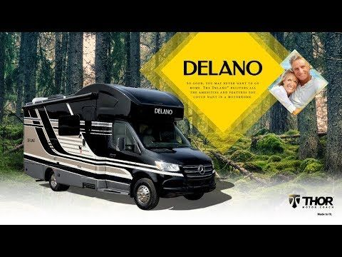 Your First Look At The All New Delano Sprinter Class C Motorhome