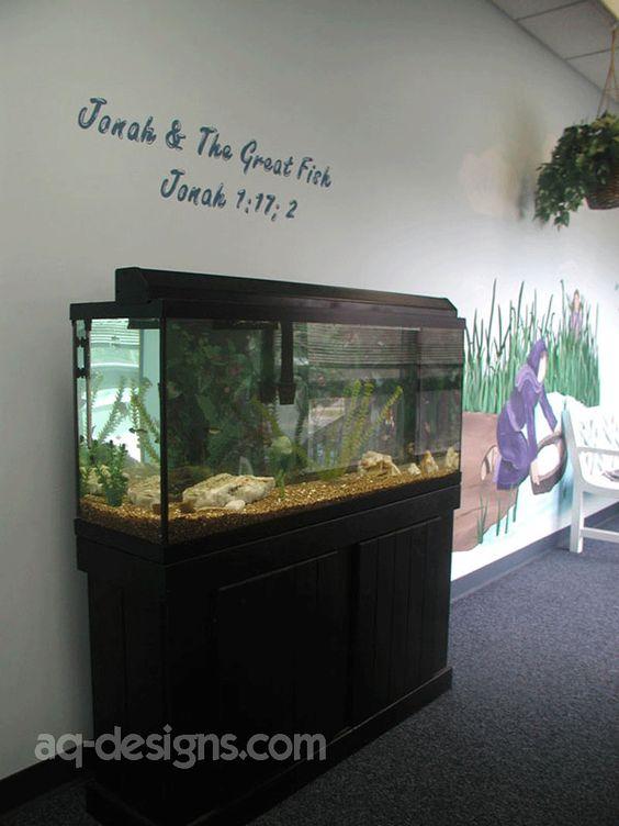 Aquarium 55 gallon and daycares on pinterest for 50 gallon koi pond
