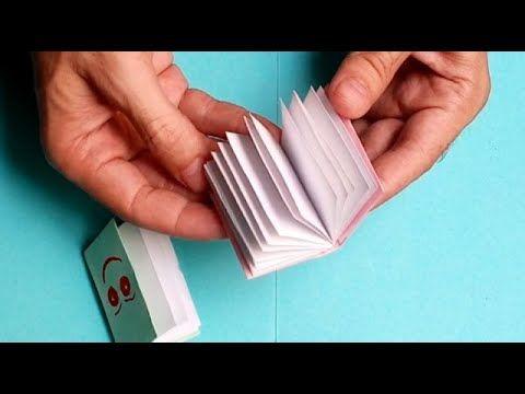 اعمال يدوية للأطفال كيف تصنع دفتر أو مذكرة بالورق الملون Notebook Fo Education Convenience Store Products Convenience Store
