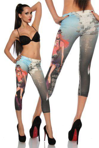 Capri Tattoo Leggings Der Trend! 12572