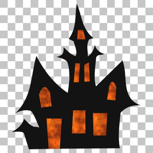 Haunted House Png Image With Transparent Background Png Images Haunted House Transparent Background