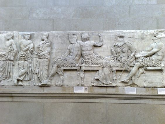 Friso del Partenón. Fidias