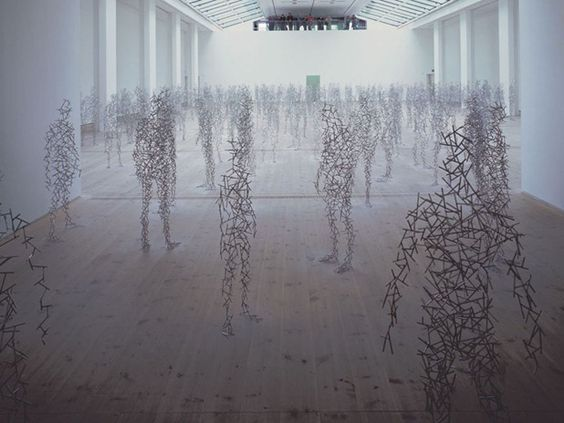 sculptures by antony gormley