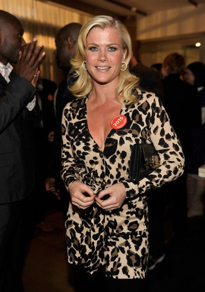 The legendary Alison Sweeney... Grand Dame... On July 8, 2000, Sweeney married David Sanov, a California highway patrolman who once appeared on Days of our Lives in the role of a police officer.