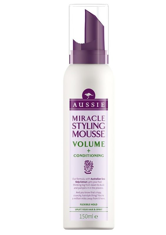 Espuma volumen y fijación flexible. Esta espuma no solo le da volumen a tu pelo, también lo mima. Dejando un aspecto natural y sin apelmazarlo.