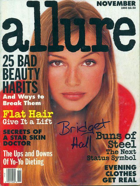 Allure US November 1993 - Bridget Hall