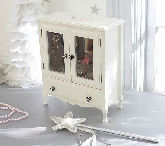 Mill Valley Jewelry Armoire | Pottery Barn Kids: Armoire Pottery, Paxton S 2Nd, Jewelry Armoire, Pottery Barn Kids, 2Nd Bday, Valley Jewelry, Jewelry Boxes