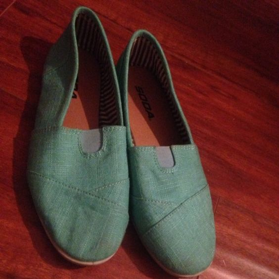 For Sale: Teal flats  for $19