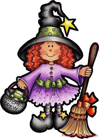 halloween dibujos brujas a color , Buscar con Google