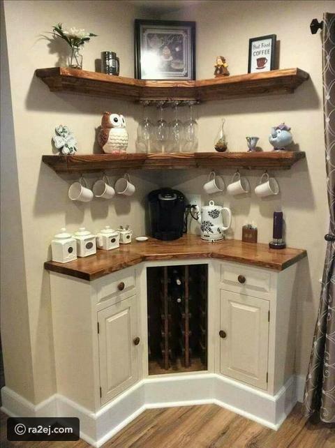 لعشاق القهوة صور ركن خاصة لحفظ القهوة رائج Home Decor Home Diy Home Remodeling