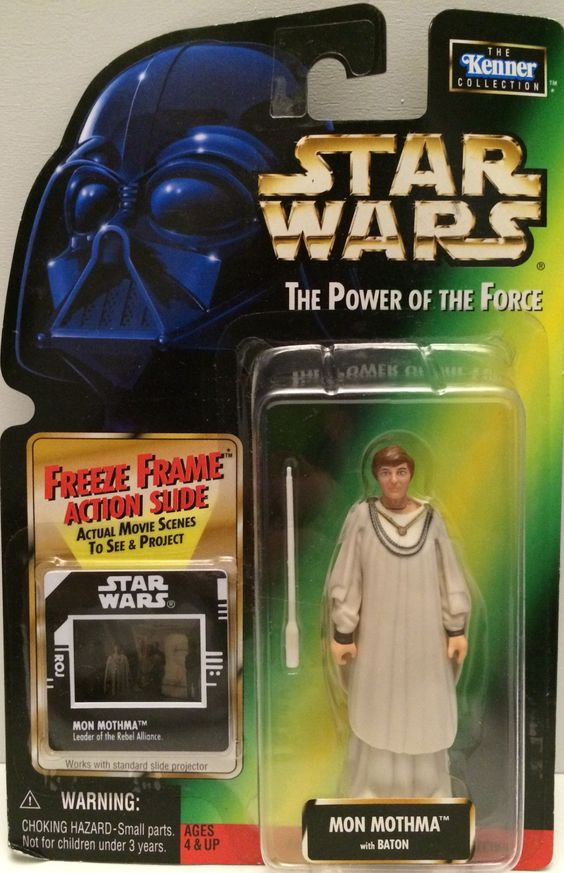 (TAS031252) - 1998 Kenner Star Wars The Power of the Force - Mon Mothma
