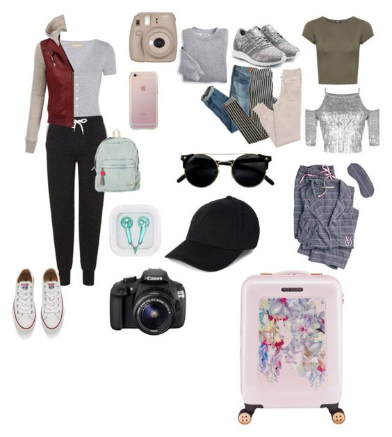"""""""Untitled #108"""" by regitacahyadini ❤ liked on Polyvore featuring Ted Baker, American Eagle Outfitters, Blair, Michael Kors, Topshop, Billabong, LE3NO, Converse, adidas Originals and GANT"""
