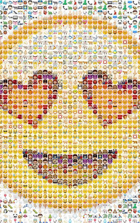 Single Line Emoji Art : The first all emoji art show announced emojis shows
