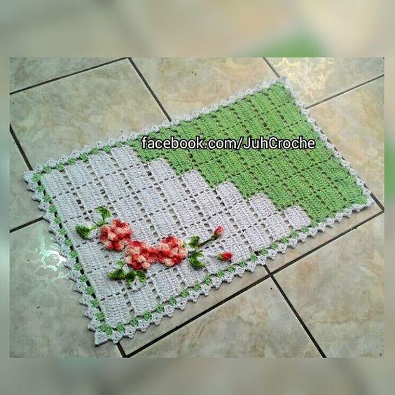 Iniciando mais um jogo de banheiro dessa vez no modelo Duocolor. #juhcroche #artesanato #amocrochet #banheiro #croche #crocheting #crochetaddict #crochetlover #crochetlove #crochetando #euquefiz #euamocrochet #feitoamao #handmade #instacrochet #instalike #minhacasa #casaesua #casaésua by juhcroche